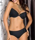 "AXAMI SET Pushup Bra+ Thong ""Basic Black"" V-5780 size 30 32 34 36 38 ABCDE SMLXL"
