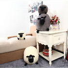 Stuffed Soft Plush Toys Sheep Character White/Gray Kids Baby Toy, Decor Cushion