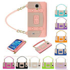 New Popular Rubber Handbag Cell Phone Case Cover For Samsung Galaxy S3 S4
