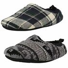 Mens Clarks Warm Slippers Kite Snooze