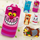 Cartoon Character Silicone Case Cover For Samsung S3 S4 Note 3 iPhone 4 / 4S / 5 / 5S