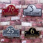 HOUSE SIGN Address Plaque Door Number MODERN Clear Acrylic Name Plate