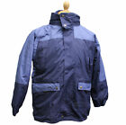 DICKIES ORANGE MENS HI VIS JACKET VISIBILITY WORK PADDED CONTRACTOR BOMBER COAT