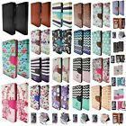 Wallet Colorful PU Leather Flip Stand Hard Case Cover For Apple iPhone 5S 5C 6