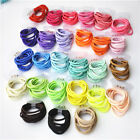 HOT! 100pcs Colorful Girl Tiny Rubber Hair Bands Elastic Ties Rope Ponytail