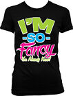 Im So Fancy You Already Know Swag Music Lyrics Sayings Juniors T-shirt