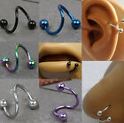 In Vogue StainlessCool lexo Twist Helix Cartilage Lip Nose Ring Earring Piercing