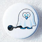 C39 - Ghost Ball and Chain - Freak Show Halloween, Hallows Eve, Spook Ghost