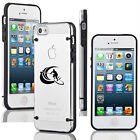 For Apple iPhone 6/6 Plus Clear Hard TPU Case Cover Stand Up Paddle Board Surf