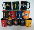 "NFL 15 oz. Sculpted ""Relief"" Coffee Mug~NEW $11.39 USD on eBay"