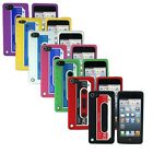 For iPod Touch 5 Retro Cassette Tape Silicone Rubber GEL Soft Skin Case Cover