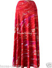 Hayaa ~ Niana Flowy Raspberry Splash Full Long Skirt S M L XL