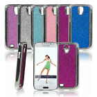 Deluxe Glitter Bling Crystal Chrome Hard Case Cover For Samsung Galaxy S4 i9500