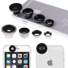4in1 Fish Eye+Wide Angle Macro Telephoto Lens Camera for iPhone 6 6Plus Samsung