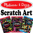 Melissa & Doug Scratch Art Kit Childrens Craft Set Creative Toys Choose Design
