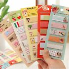 Cute Cartoon Sticker Office Post Bookmark Marker Memo Index Tab Sticky Notes