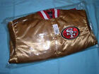 2014 NFL - San Francisco 49ers GOLD Satin Jacket for WOMEN/LADIES