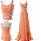 FREE SHIP Split Masquerade Prom Wedding Party Ball Gown Evening Cocktail Dresses