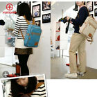 Hot Casual Korean Unisex School Boys Girls Canvas Backpack Shoulder Bags US