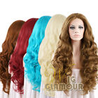 "20""-28"" Long Curly Blonde Brown Red Custom-made Color Lace Front Synthetic Wig"