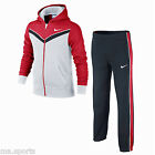 NEW NIKE TRIO CUFF JUNIOR KIDS BOYS SPORTS ATHLETIC JOG SUIT HOODED TRACKSUIT