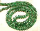Precious Emerald 4-4.5mm/4.5-5mm Cabochon Rondelle Gemstone Beads Select-A-Lot