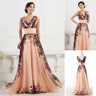 GORGEOUS!! Vintage Long Chiffon XMAS PARTY Evening Prom Mother Bridesmaids Dress
