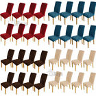8x Stretch Removable Washable Removable Dining Chair Covers Protective Covers