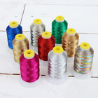 METALLIC EMBROIDERY THREAD - 500M - 40WT - FITS BROTHER BERNINA - by THREADART