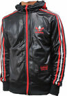 NEW Adidas mens Originals Chile 62 FZ Jacket Black hooded Top UK SIZE XS S M L