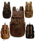 Men Travel Canvas Backpack Sport Rucksack Satchel Men's Hiking Bag Multi-Color
