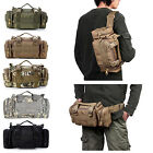 Outdoor Hiking Camping Tactical Men's Shoulder Bag Canvas Backpack Army Rucksack