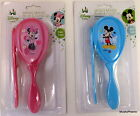 Disney Mickey or Minnie Mouse blue or Pink Baby Brush & Comb Set NIP FREE SHIP!!