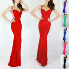 Long Mermaid  Evening Formal Party Ball Gown Prom Bridesmaid Dress 6 8 10 12 14+