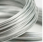 1 - 5 Feet DS .999 Fine Silver Round Wire 8 - 20 Gauge BRND NEW MADE IN USA