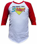 Evil Dead - Shop S-Mart Shirt (Army of Darkness) Horror 3/4 Sleeve Baseball Tee