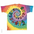 Grateful Dead Spiral Bears Tie Dye T-Shirt Youth Sm. to Adult XXL FREE SHIPPING