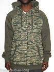 Enyce Hoodie New $68 Mens Camo Green Full Zip Jacket Size 3XL