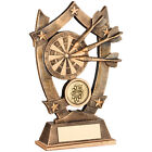 Darts Award Free Engraving Darts Board and Darts Trophy