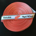"7/8"" Detroit Red Wings Red Border Grosgrain Ribbon by the Yard (USA SELLER!) $9.55 USD on eBay"