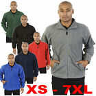 Zipped Fleece XS to 3xl 4xl 5xl 6xl & 7XL plus size