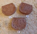 GENUINE MOROCCAN HAND TOOLED  LEATHER  SMALL PURSE * LONG STRAP *