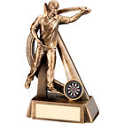 Darts Award Free Engraving Male Darts Trophy