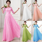 2015 Wedding Bridesmaid Party Dress Evening Prom Ball Gown bohemian maxi dresses