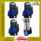 NEW UNIVERSAL DIRTY / CLEAN WATER PUMP SUBMERSIBLE AUTOMATIC ELECTRIC POND PUMPS