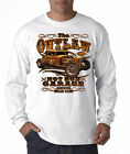 Outlaw Hot Rod Garage Genuine Stolen Parts Cars Long Sleeve T-Shirt S-3XL