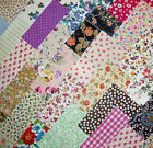 MIXED CHARM PACK 100% COTTON PATCHWORK FABRIC 4inch SQUARES QUILTING SEWING E235
