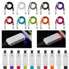 1M LED Light Micro USB Charger Cable Sync Cord For Samsung S3 S4 Note 2 Sony LG