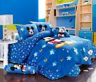 Stunning Disney Mickey Mouse Full Queen 7pc Comforter In A Bag Free Shipping