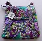 NEW Vera Bradley Hipster Crossbody Shoulder Bag Katalina Pink Blue Bandana NWT